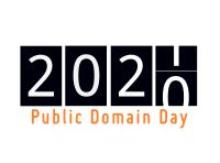 Logo de Tago de Publika Havaĵo (Public Domain Day) 2021